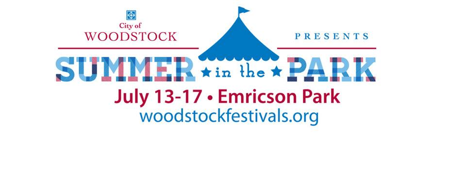 Save the Date for Summer in the Park July 13-17