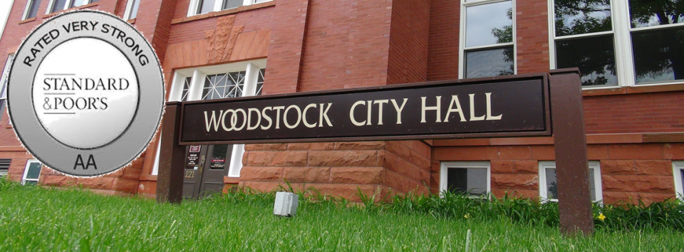 """Woodstock's Standard and Poors """"AA"""" Rating"""